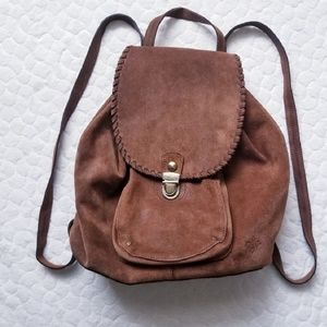 Patricia Nash Cascade cognac backpack leather